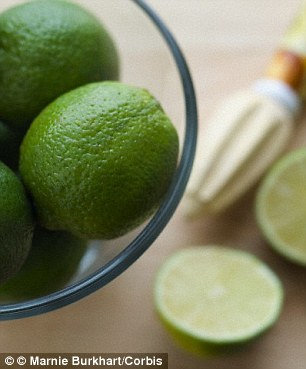 Drinking warm water with lime in the morning can kick-start digestion